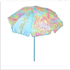 Lilly Pulitzer Pool Umbrella new in package
